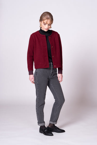 Maxine Jacket - Berry