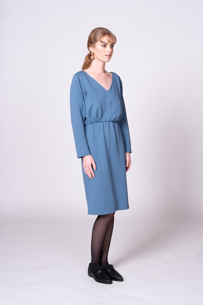 Cilla Dress - Blue