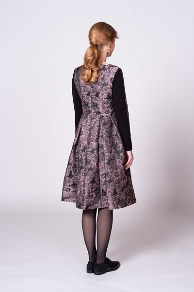 Verity Dress - Mauve Shadow