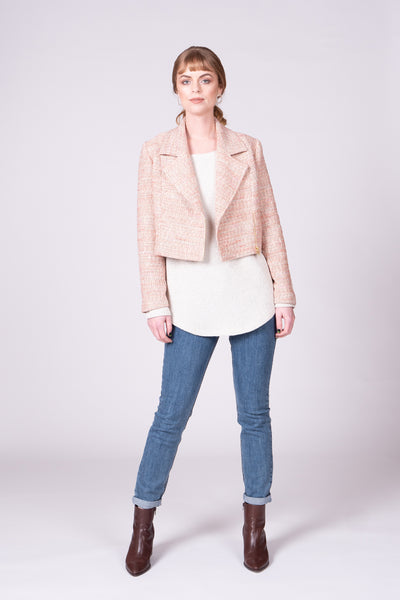 Bike-Away Jacket - Peach