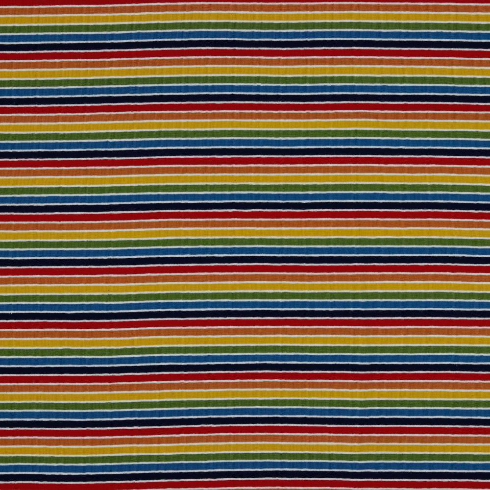 Euro Knit- Rainbow Multi Stripe- 50cm x 150cm