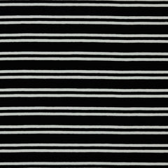 Euro Knit-Black and White Stripe- 50cm x 150cm