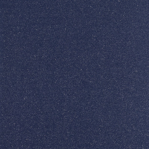 Swafing Lurex Marled Ribbing- Dark blue with Silver - 10cm x 90cm