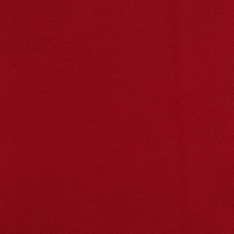 GOTS  Euro DARK RED Smooth Ribbing 10cm x 70cm (tubed)