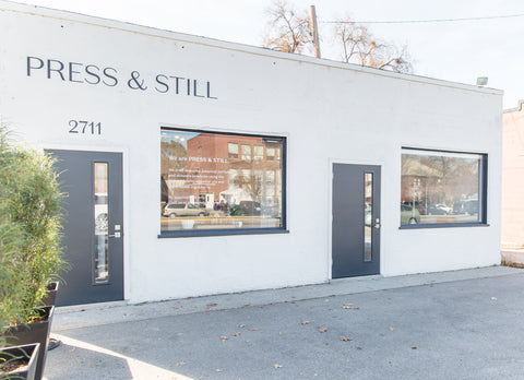 The Press & Still shop at 2711 W State St in Boise.