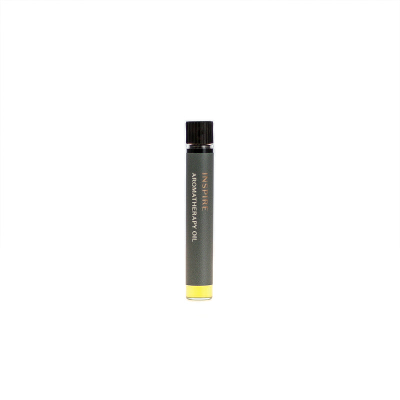 Inspire aromatherapy oil (0.03 fl oz/1 ml). Organic jojoba exquisitely scented with lime, petitgrain, jasmine and rose essential oils and extracts.