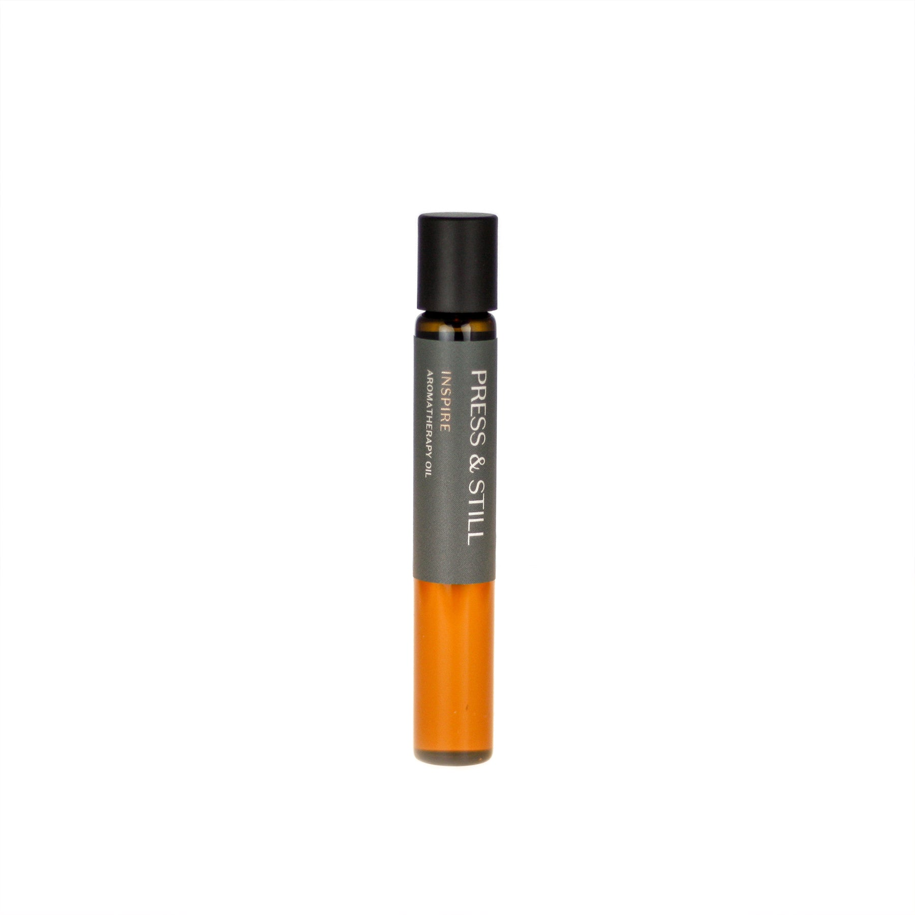 Inspire aromatherapy oil (0.33 fl oz/10 ml). Organic jojoba exquisitely scented with lime, petitgrain, jasmine and rose essential oils and extracts.