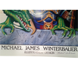 1992 Might and Magic Poster by Mike Winterbauer (SIGNED)