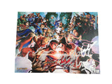 2012 Street Fighter Poster signed Tomoaki Ayano