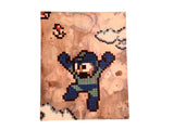 Mega Man Canvas Painting