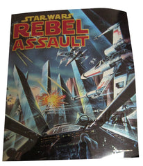 Star Wars Rebel Assault cover Proof signed James Esker
