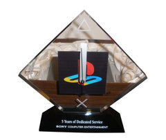 Sony Playstation Clock - Employee 5 year service award