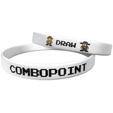 "Combo Point ""Cowboys"" White Wristband"