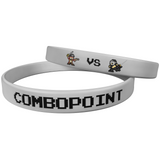 "Combo Point ""Pirates vs Ninjas"" Grey Wristband"