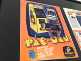 Original Pac-Man Video Game Flyers 1980 - Rare