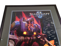 2009 Starcraft 2 BlizzCon Poster signed Samwise