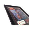 Framed Super Contra Flyer - dat 80s