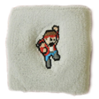 "Combo Point ""The Fighter"" Sweatband - White 1 Size"