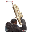 Gears of War 2 - Marcus Fenix Epic Scale Bust Gold Lancer Edition