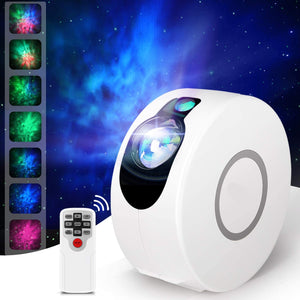 Galaxy Star Projector with Remote Control