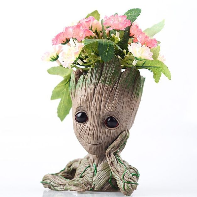 Tree Man Flower Pot Doll
