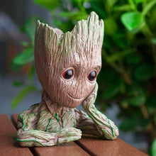 Load image into Gallery viewer, Tree Man Flower Pot Doll