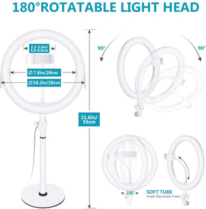 10-inch USB LED Ring Light