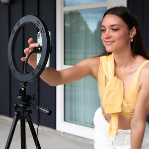 LED Selfie Live Streaming Ring Light - Lemon&Joy