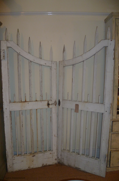 Pair Of 19th Century Painted Garden Gates