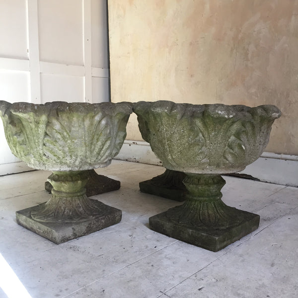 Set Of Four Urns