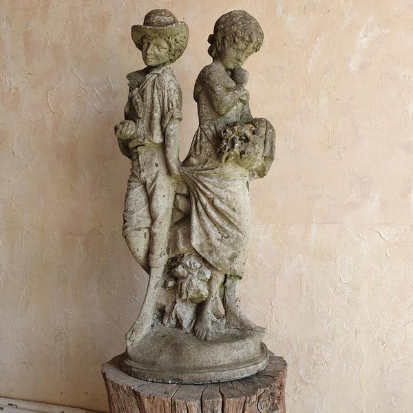 Statue Of Young Lovers
