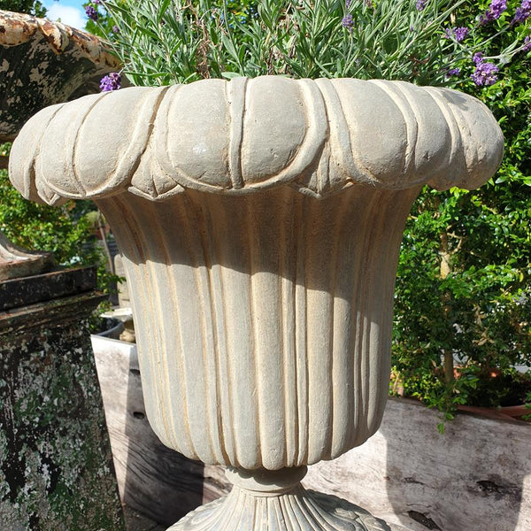 Art Deco Doulton & Co Urn On Plinth