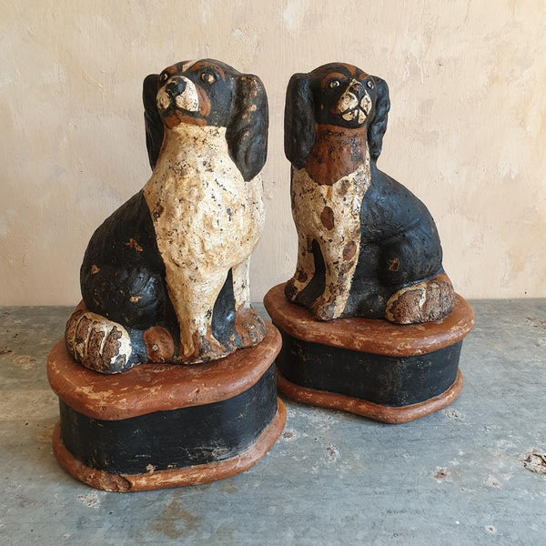 Pair Of 19th Century Spaniels