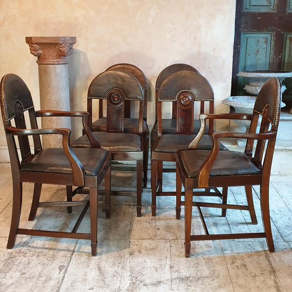 Set Of Six Wylie & Lochhead Chairs