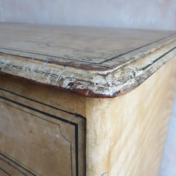 19th Century Painted Chest Of Drawers