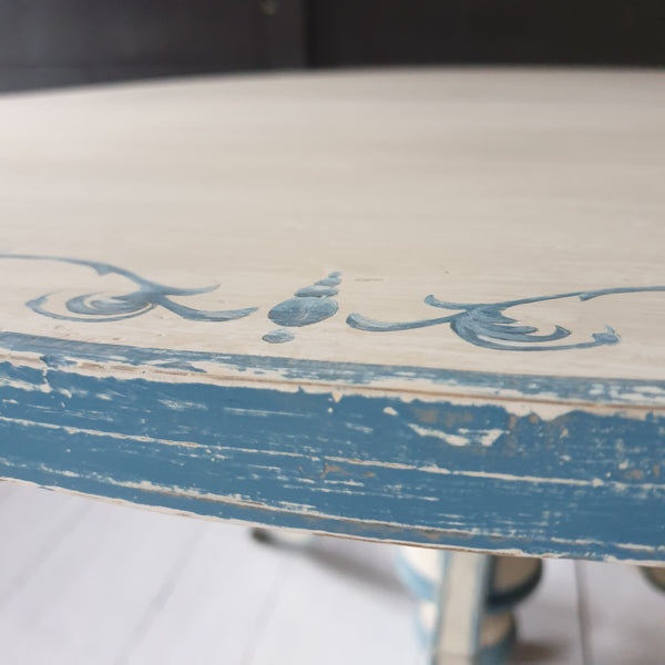 Painted French Tilt Top Centre Table
