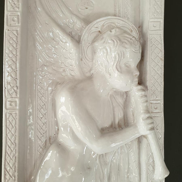 Set Of Cherub Plaques