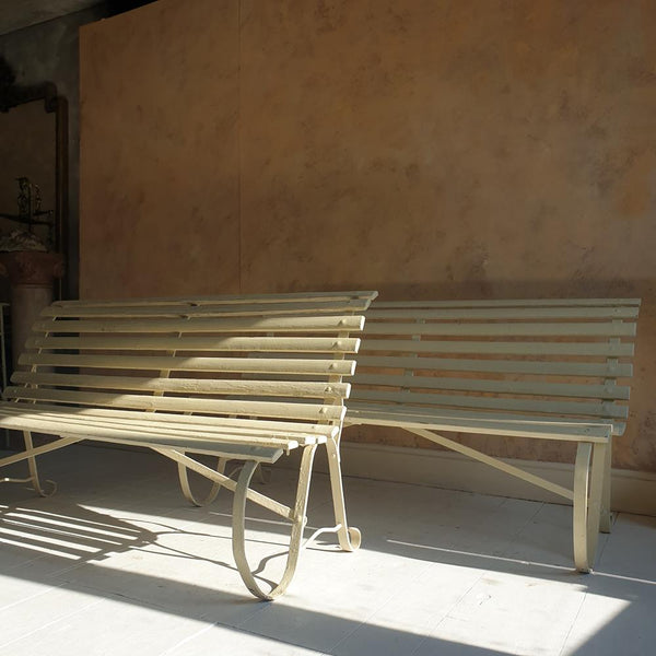 A Pair Of Edwardian Benches