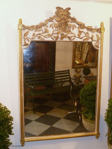 Edwardian Mirror With Later Embellishment