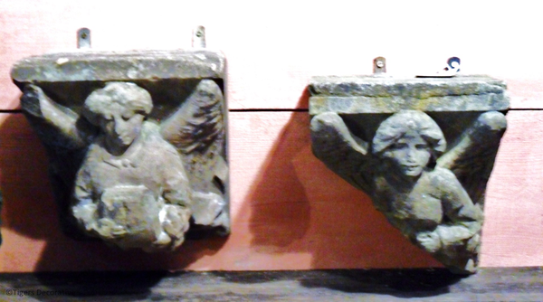 Pair Of Early 19th Century Stone Angels