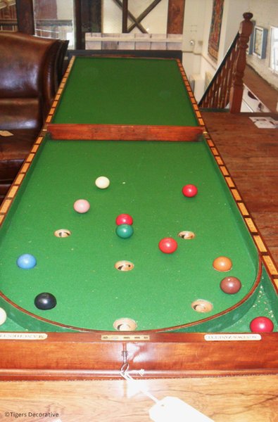 19th Century Home Billiard Table