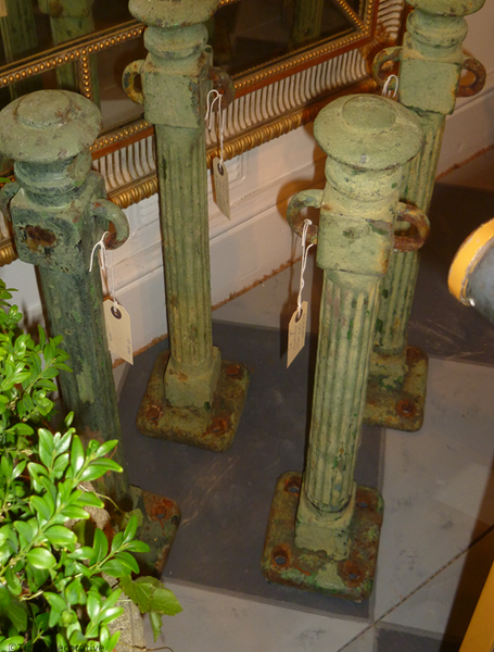 Set Of 20th Century Architectural Posts