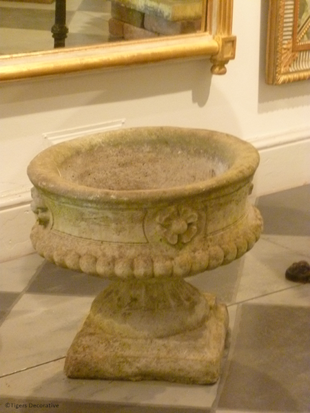 Late 20th Century Composite Stone Urn