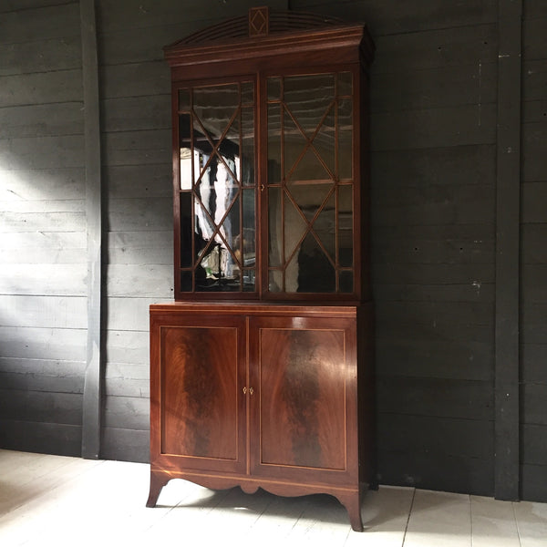 Early 19th Century Mahogany Display Cabinet