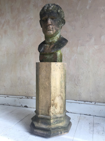 Terracotta Bust Of Brutus
