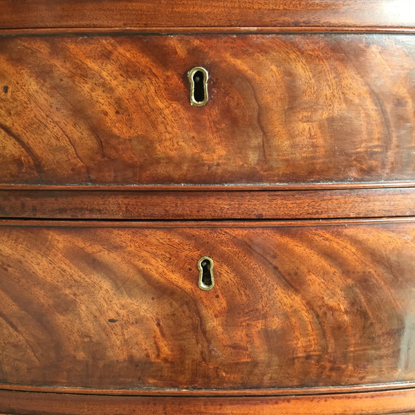 18th Century Mahogany Chest Of Drawers