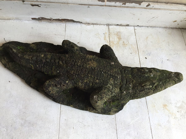 Composite Stone Crocodile