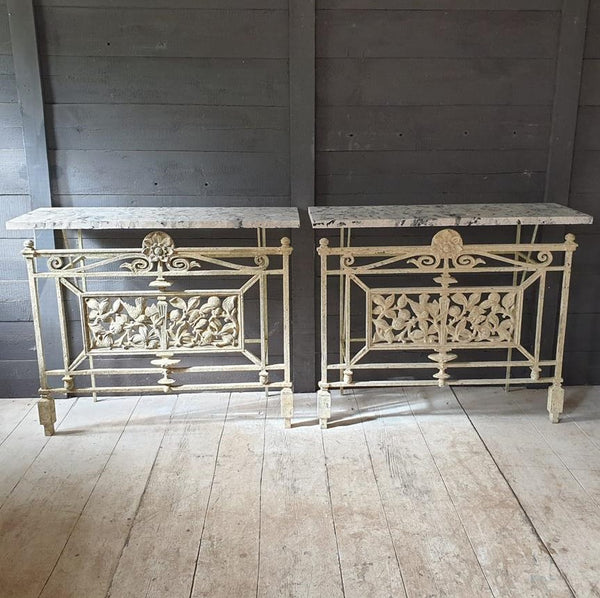 A Pair Of 19th Century Console Tables