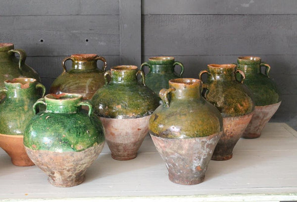 Collection Of Confit Pots