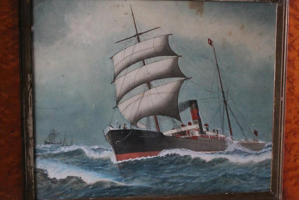 19th Century Nautical Watercolour